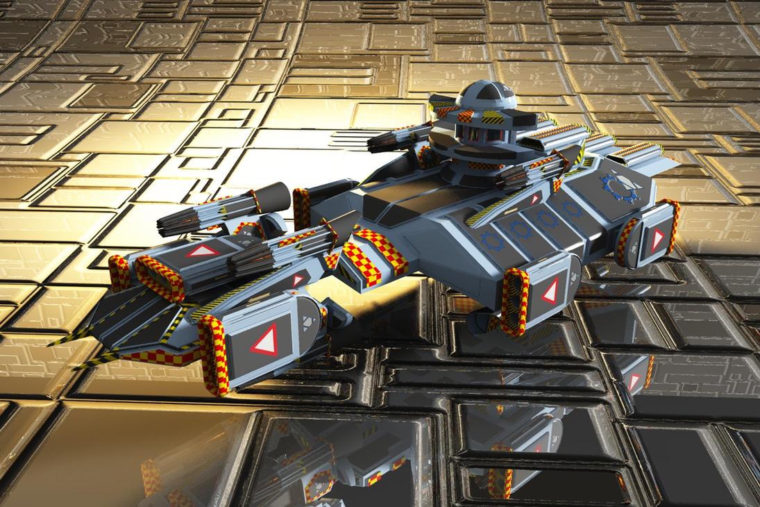 Destroyer OBJ by dmaland