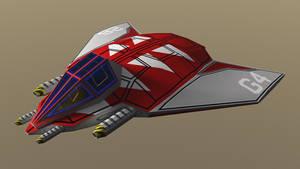 Simple Snubfighter OBJ by dmaland