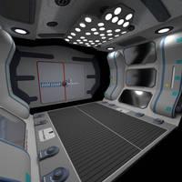 MBE Ship Corridor OBJ by dmaland