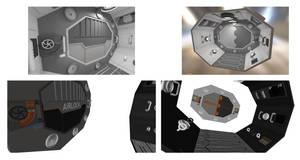 MBE Shuttle Airlock OBJ