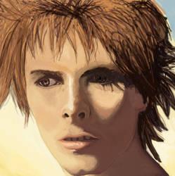 David Bowie by Bilbo-Freehobbit