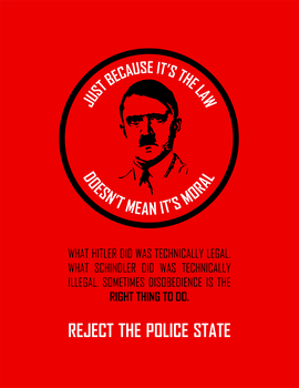 Reject The Police State