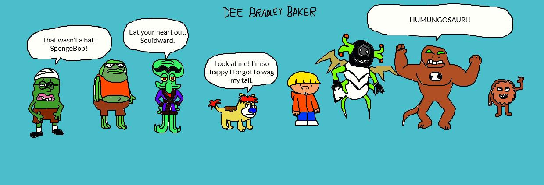 dee bradley baker spongebob