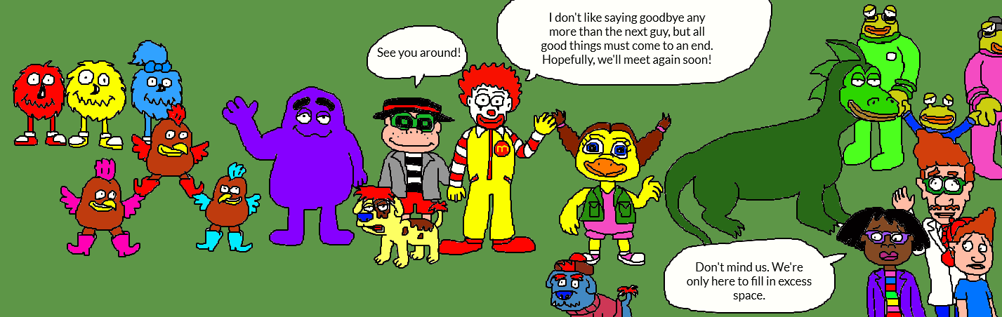 The Wacky Adventures Of Ronald Mcdonald The Legend Of Mcdonaldland Loch