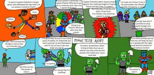 Planeteers Meet Crusaders Page 5 (Finale)
