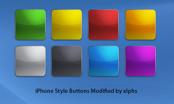 iPhone Style Buttons Modified