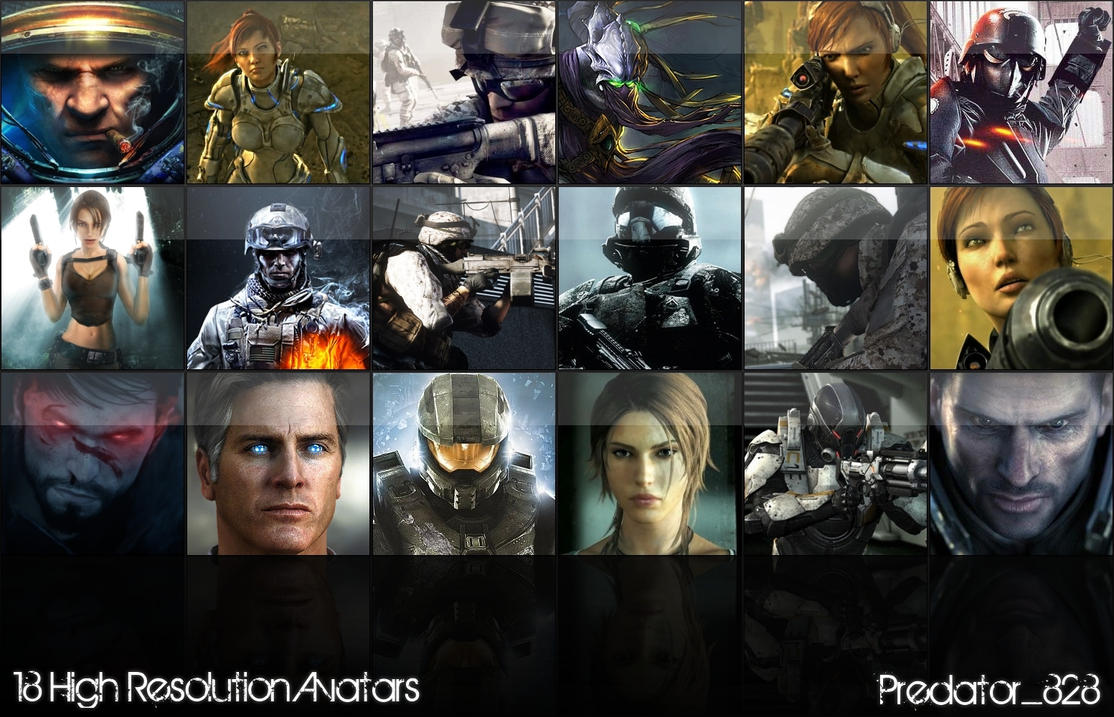 Avatar Pack by Predator828