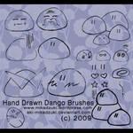 Hand Drawn Dango Brushes
