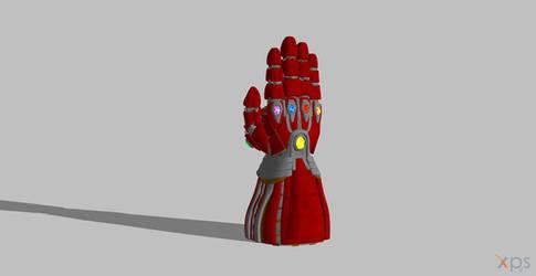 Avengers Endgame Iron Gaunlet by BlinkJisooXPS
