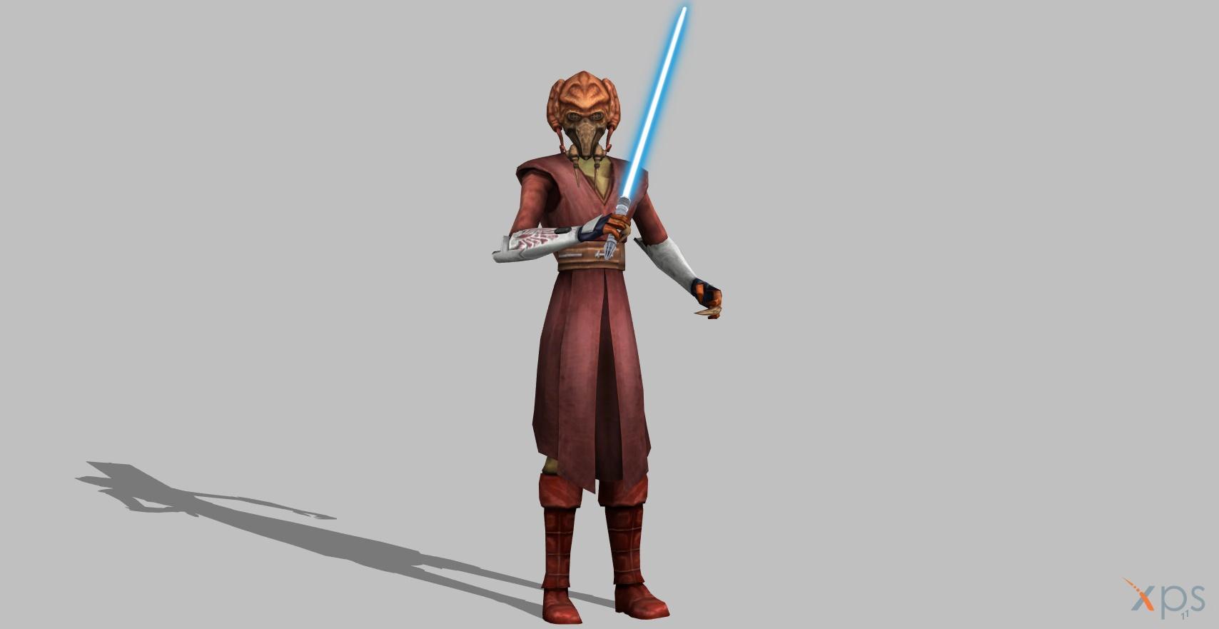 Star Wars Tcw Plo Koon By Blinkjisooxps On Deviantart