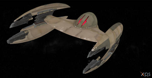 Battlefront 2 Vulture Droid by BlinkJisooXPS