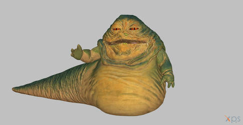 Battlefront Jabba the Hutt by BlinkJisooXPS