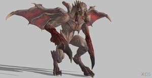 Doom Eternal Gargoyle