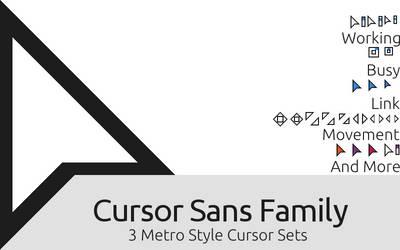 Cursor Sans Family v1.5.1 by RandomAcronym