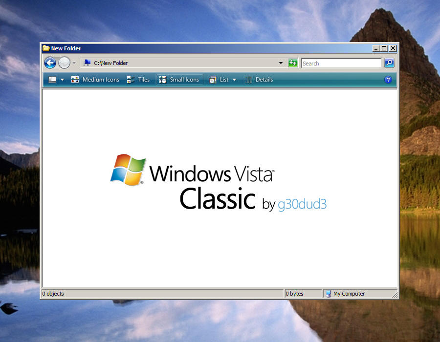 Vista Classic by g30dud3