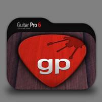 Guitar Pro Folder Icon by borisbrate
