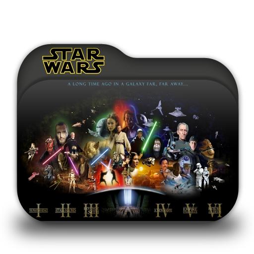 Star Wars Folder Icon by borisbrate
