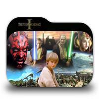 Star Wars Episode I Folder Icon by borisbrate