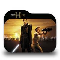 Star Wars Episode II Folder Icon by borisbrate