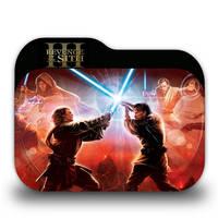 Star Wars Episode III Folder Icon by borisbrate