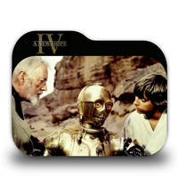 Star Wars Episode IV Folder Icon by borisbrate