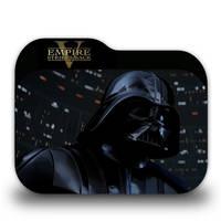 Star Wars Episode V Folder Icon by borisbrate
