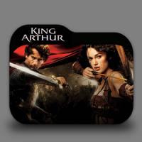 King Arthur Folder Icon by borisbrate