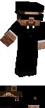 Minecraft Skin - Matrix Agent with Hat by Mamamia64