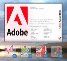 Adobe Glass Icons ver 3.0 by Killerhurz