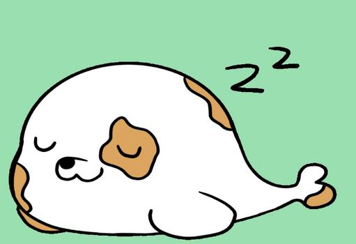 Sleepy Seal GIF