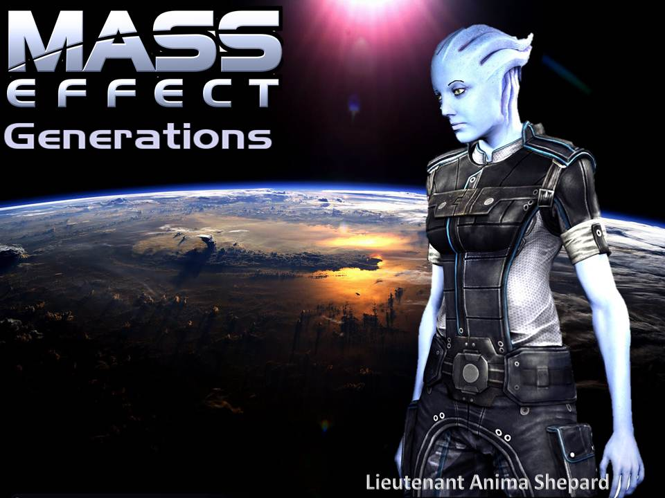 Mass Effect- Generations (The Second Book) by ME-DarkSky