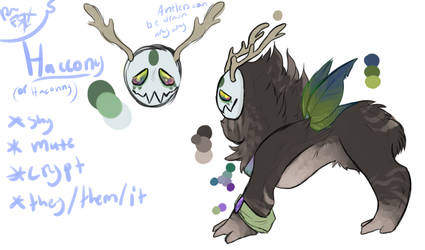Haccony (or Haconny) REF by Roonythefox19