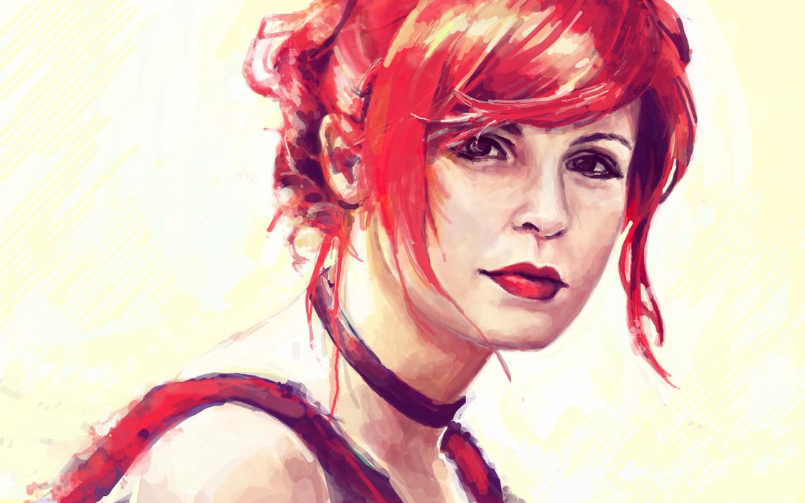 Miss Brightside (redraw) by alicexz