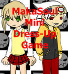 Maka Soul mini Dress Up game