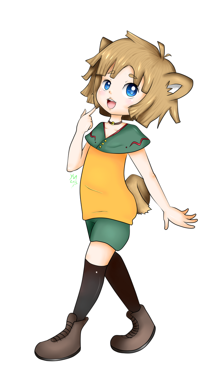 New OC :3 by Miisora-Chan