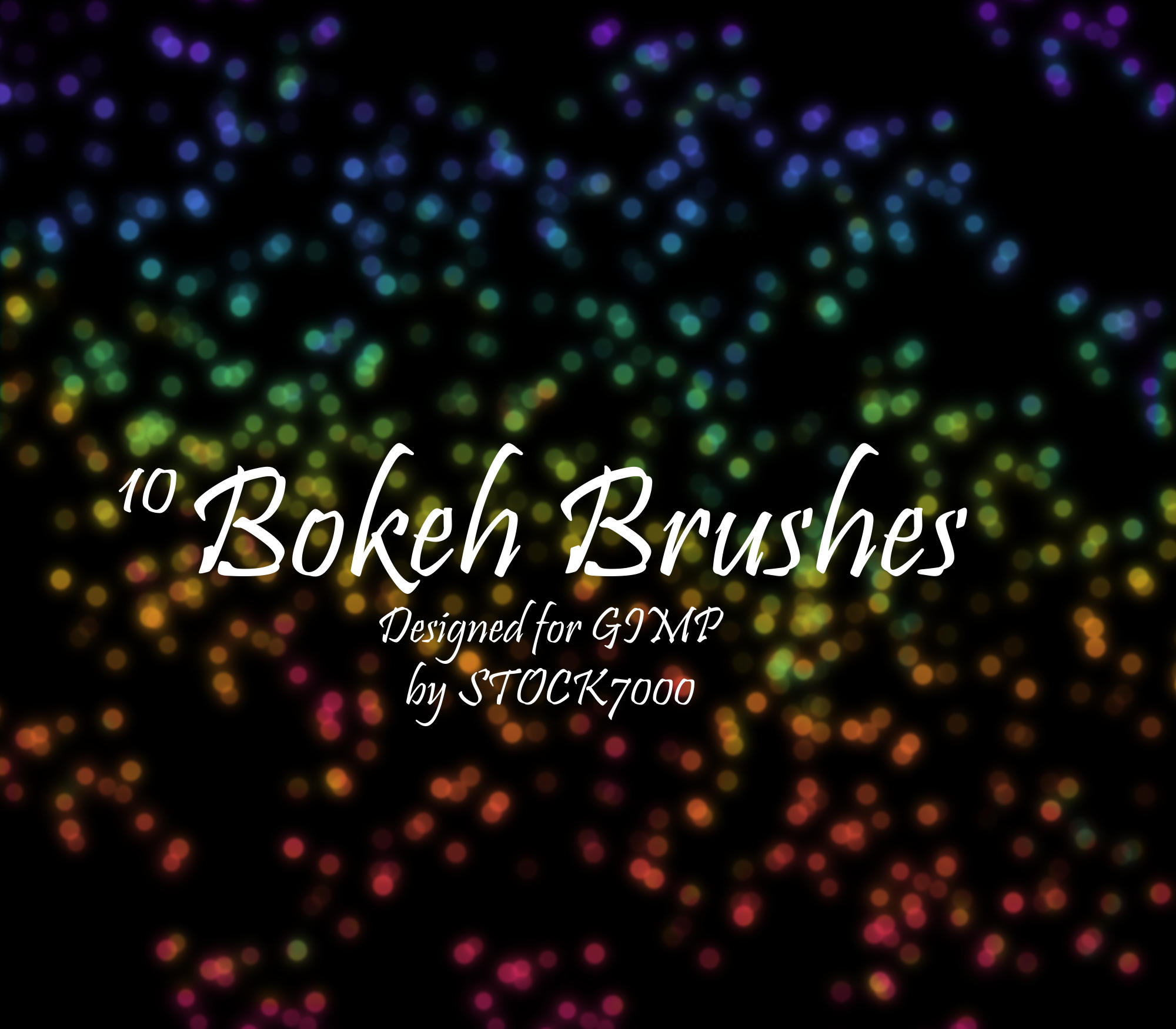 10 Bokeh Brushes by Stock7000