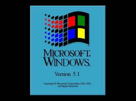 Windows 3.11 style bootskin