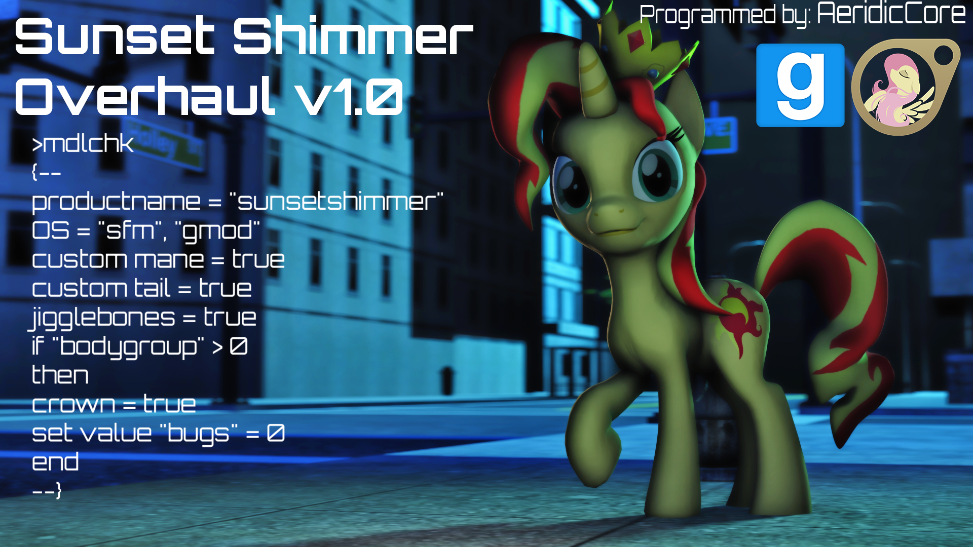 [DL] Sunset Shimmer Overhaul