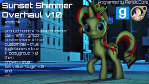 [DL] Sunset Shimmer Overhaul