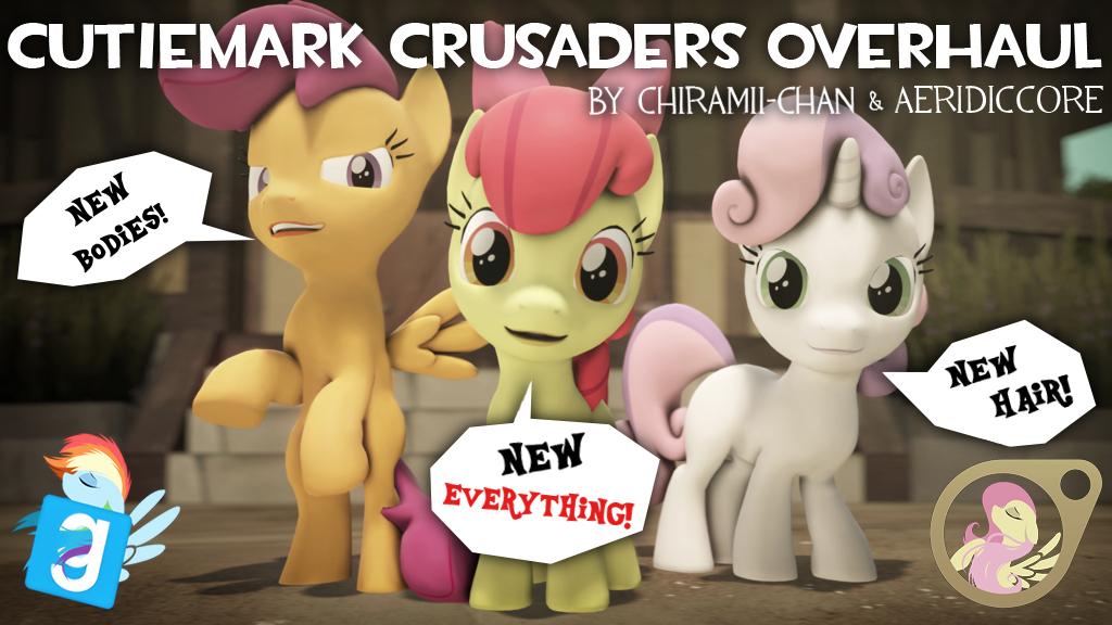 [DL] Cutiemark Crusaders Overhaul