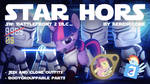 [DLc] Star Hors: Jedi and Clone Pony Outfits