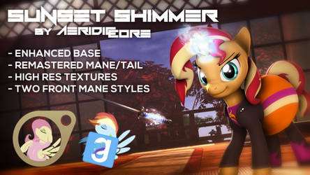 [DL] Sunset Shimmer Ultimate Overhaul