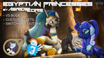 [DL] Egyptian Princesses by AeridicCore