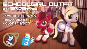 [DL] Schoolgirl Outfit