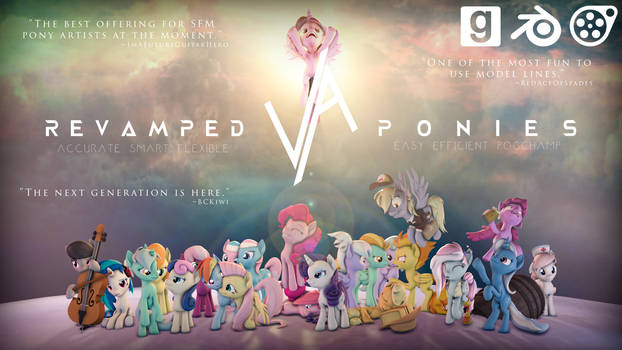 [DL/Overhaul] ReVAmped Ponies / V6