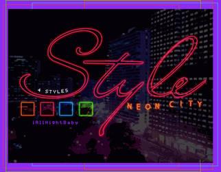 NeonCity | styles. by iAllNightBaby