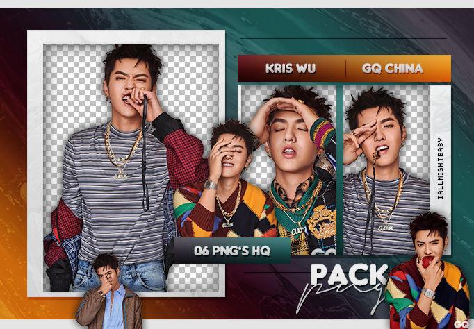 Pack Png 120 Kris Wu Gq China By Iallnightbaby On Deviantart