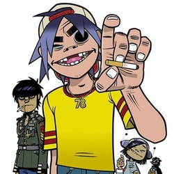 gorillaz 5/4 remake preview by LoopsBS