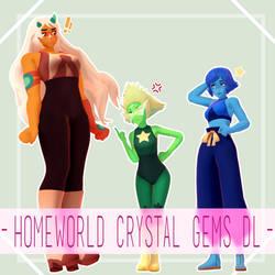 MMD Homeworld Crystal Gems [DOWNLOAD]