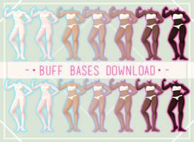 MMD TDA Buff Bases [DOWNLOAD]